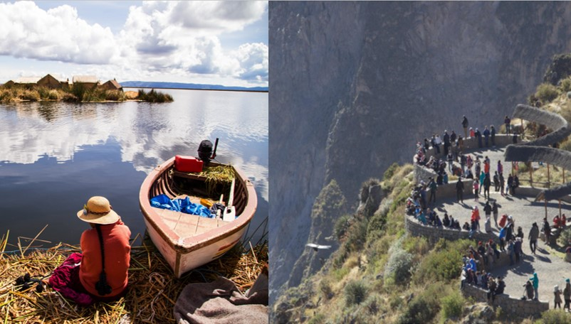 Lake Titicaca and Colca Valley